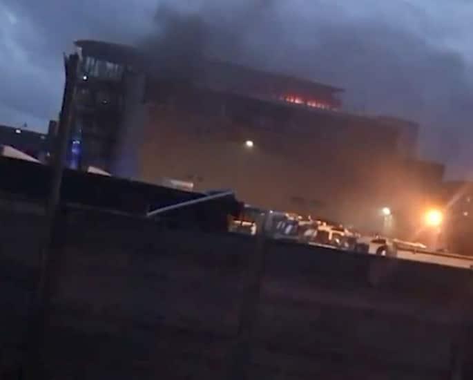 Boxer Amir Khan's £5m Wedding Venue set on Fire 2