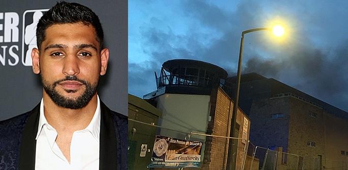 Boxer Amir Khan's £5m Wedding Venue set on Fire f
