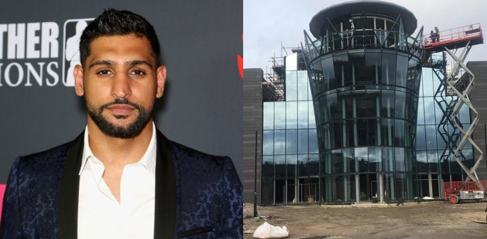Boxer Amir Khan's Venue Venture in Need of Ideas f