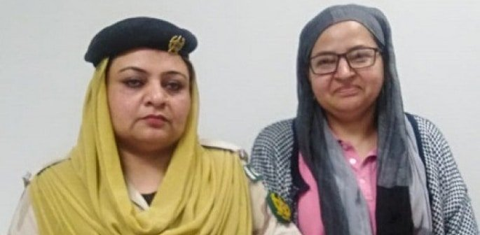British Pakistani Woman arrested with 13kg Heroin at Airport f