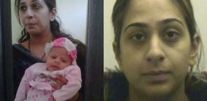 Daughter born in Pakistani Jail aged 6 Returns to UK f