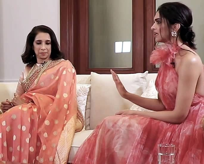 Deepika says her Mother's Stern Upbringing helps Her Today - Deepika and Mum