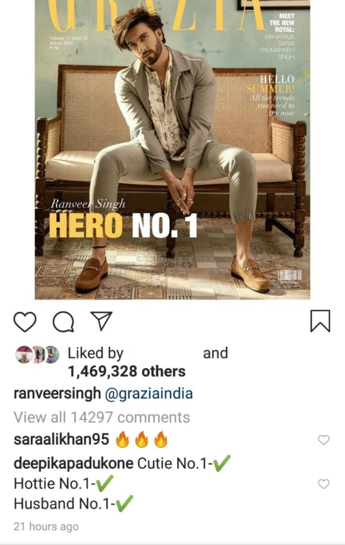 Deepika's 'Husband No. 1' Ranveer wants _many children_
