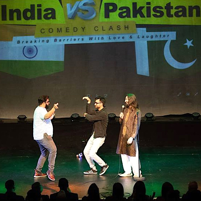 India vs Pakistan Comedy Clash - Unites in London - IA 2