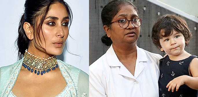 Kareena responds to Question about Taimur Nanny's Salary F