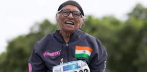 Man Kaur aged 103 wins Gold Medal for Shot Put f
