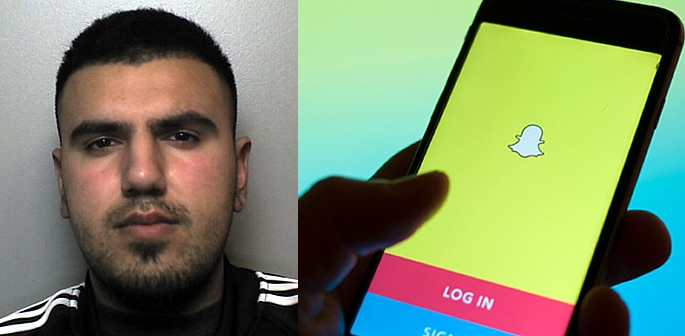 Man raped Woman and sent Snapchat clip to her Friends f