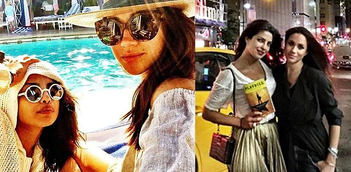 Meghan Markle 'confides' in Priyanka about adjusting to Royal Life f