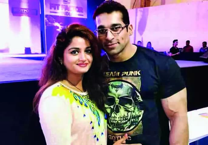 Mr India in Custody for 'Morphing' Semi Nude Photo of Wife - couple