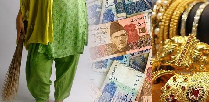 Pakistani Maid commits 'biggest house robbery' in Rawalpindi f