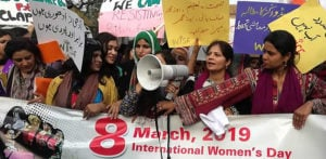 Pakistani Women's 'Aurat' March and it's Impact f