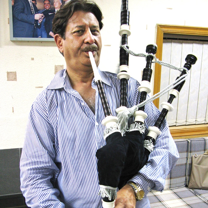 Pakistan's Sialkot the Maker of Bagpipes - IA 3