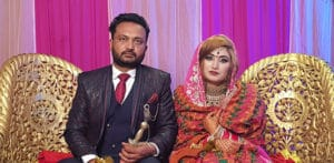 Punjabi Pakistani Bride marries Indian Groom in Punjab f