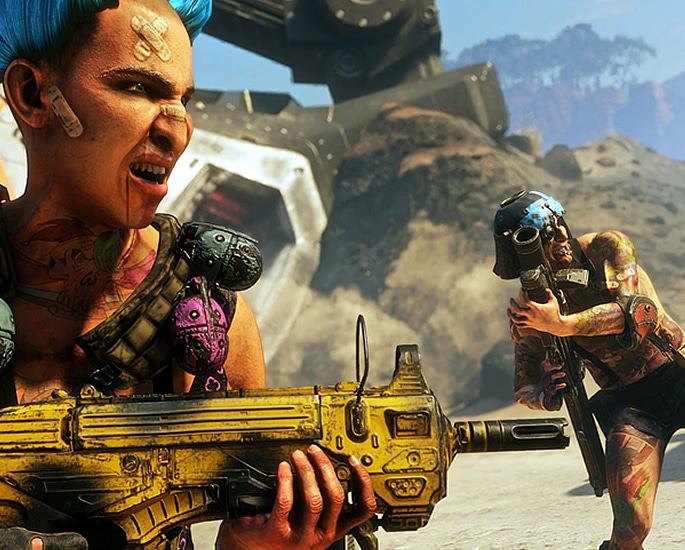 RAGE 2 What to Expect from the Unexpected Sequel - weapons