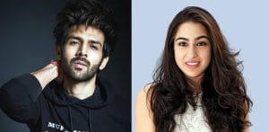 Sara Ali Khan kissing Kartik Aaryan Video Leaked f