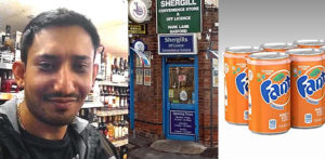 Shopkeeper punched in Face by Youths Stealing Fanta ft