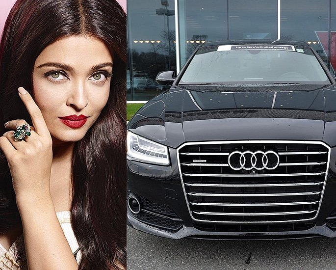 Sports and Luxury Cars owned by Bollywood Actresses - aishwarya