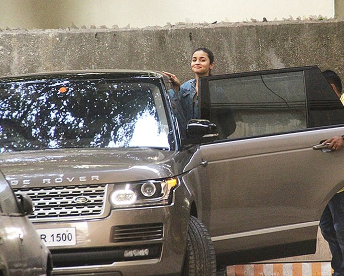 Sports and Luxury Cars owned by Bollywood Actresses - alia