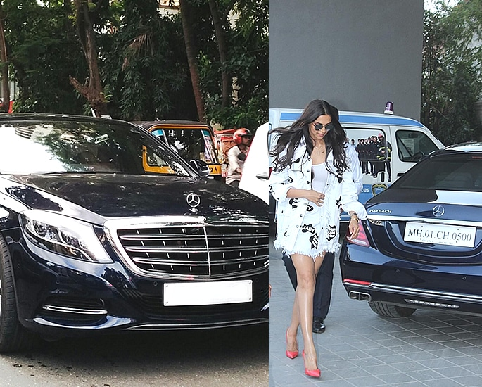 Sports and Luxury Cars owned by Bollywood Actresses - deepika