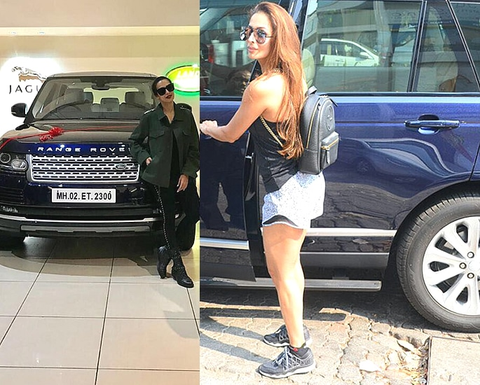 Sports and Luxury Cars owned by Bollywood Actresses - malaika