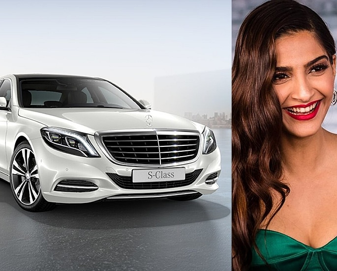 Sports and Luxury Cars owned by Bollywood Actresses - sonam