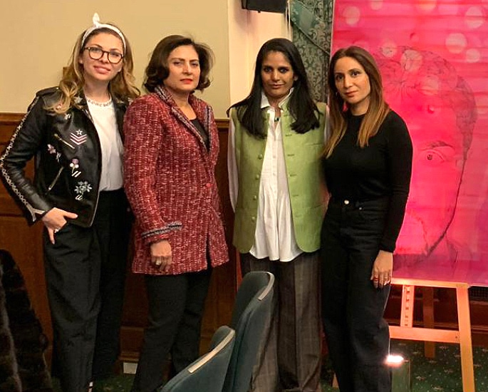 Stellar Gender Artistic Debate with Faiza Butt & Dr Sonia Datta - IA 3jpg
