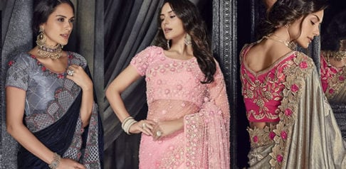 Stylish and Beautiful Crystal Sarees for Any Occasion f