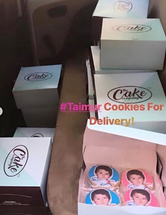 Taimur on Cookies proves his Popularity as a Little Star 2