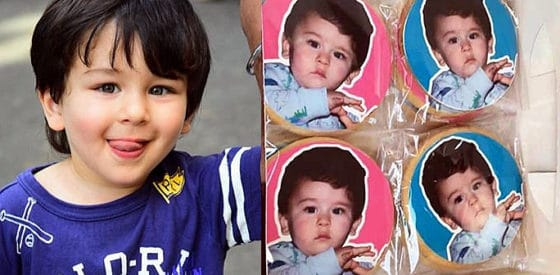 Taimur on Cookies proves his Popularity as a Little Star f