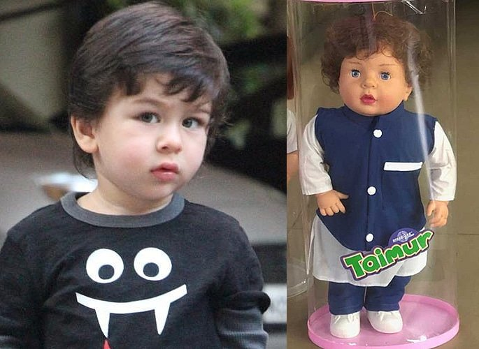 Taimur on Cookies proves his Popularity as a Little Star