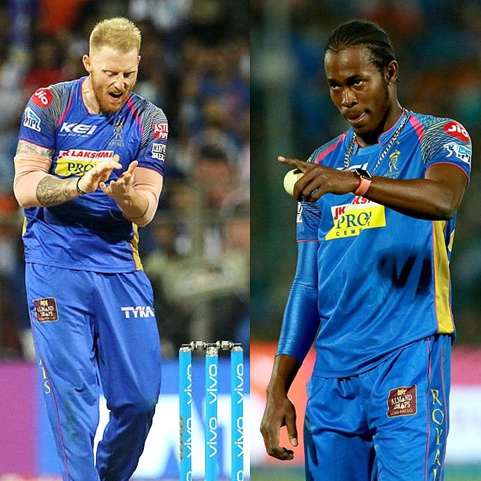 The 8 Cricket Teams and Squads of IPL 2019 - Ben Stokes, Jofra Acher 1