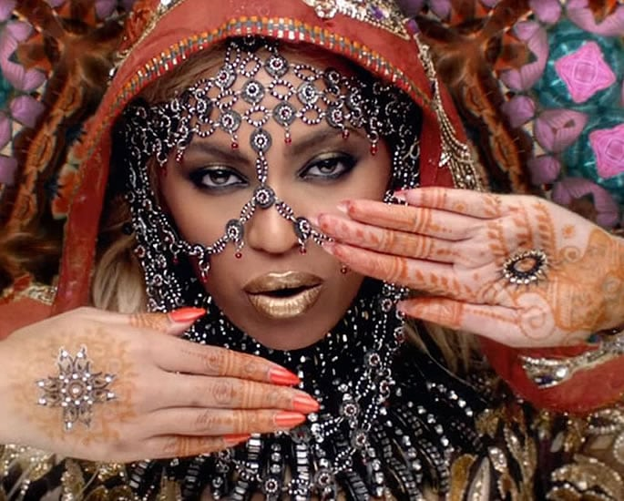 The History of Henna and Mehndi - Beyonce