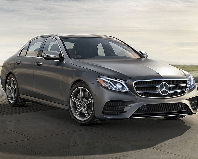 Top 10 Cars 'Stolen to Order' in the UK - e class