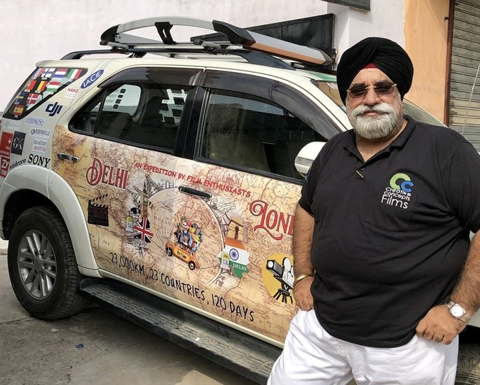 'Turban Traveller' Drives from Delhi to London in 131 Days 2