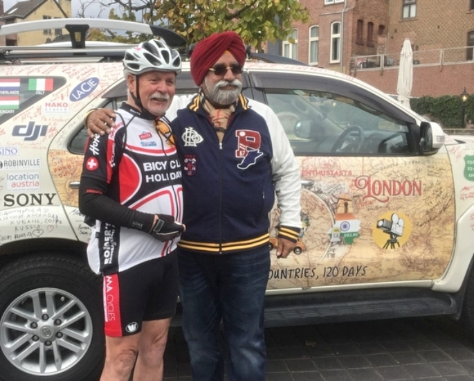 'Turban Traveller' Drives from Delhi to London in 131 Days 3