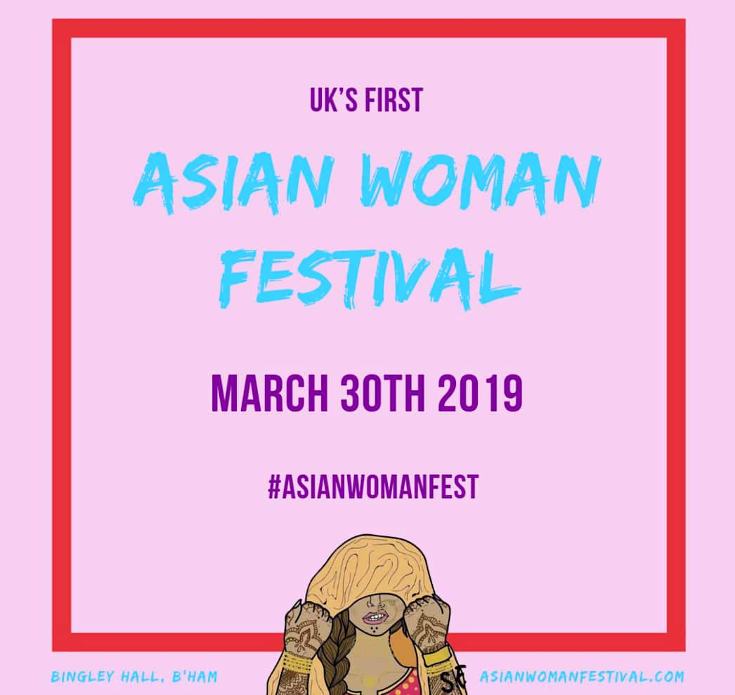 Win Tickets to UK's First Asian Woman Festival 2019 - IA