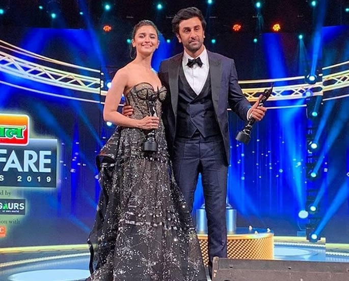 Winners of the 64th Filmfare Awards 2019 - ranbir and alia