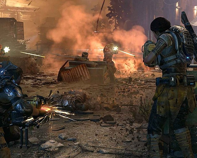 10 Xbox One Exclusive Games you Should Play - gears