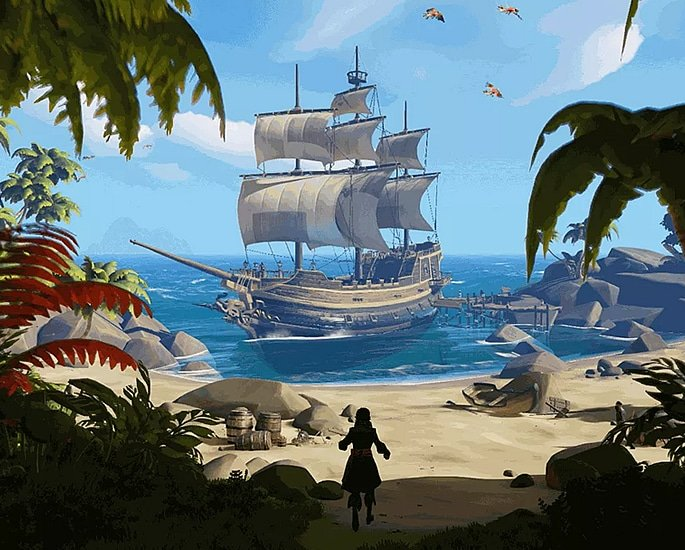 10 Xbox One Exclusive Games you Should Play - sea of thieves