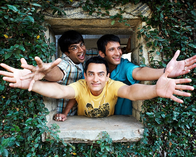 20 Top Bollywood Comedy Films to Make you LOL! - 3 IdIots