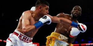 Amir Khan loses Title Fight in Controversial Circumstances f