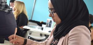 BCU Graduate Fazeela Mahreen is 'Suited for Success' f