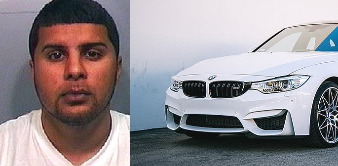 BMW Driver jailed for Running Over Two Pedestrians on Purpose f