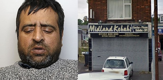 Convicted Murderer threatened to Kill Takeaway Worker f