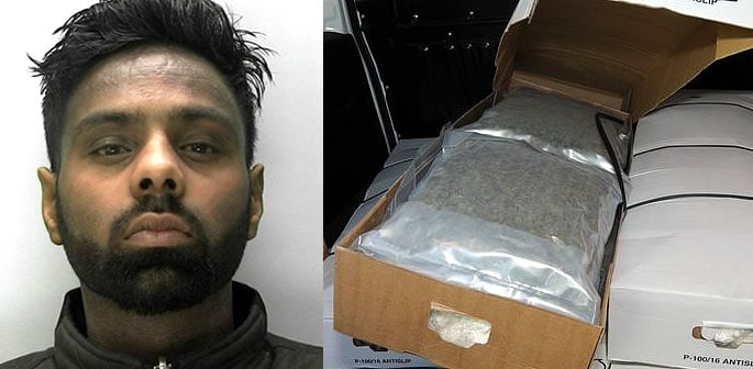 'Desperate' Businessman jailed Trying to Smuggle 47kg Cannabis f
