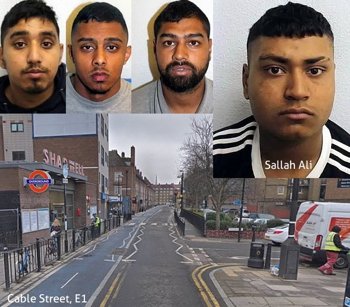 East London Gang convicted of Attempted Murder in Street