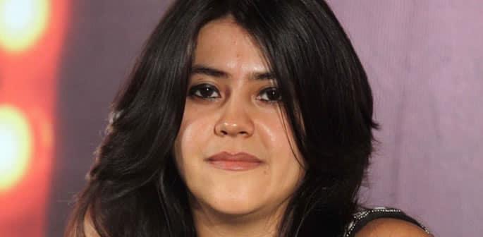Ekta Kapoor responds to the Persistent Marriage Question - ft