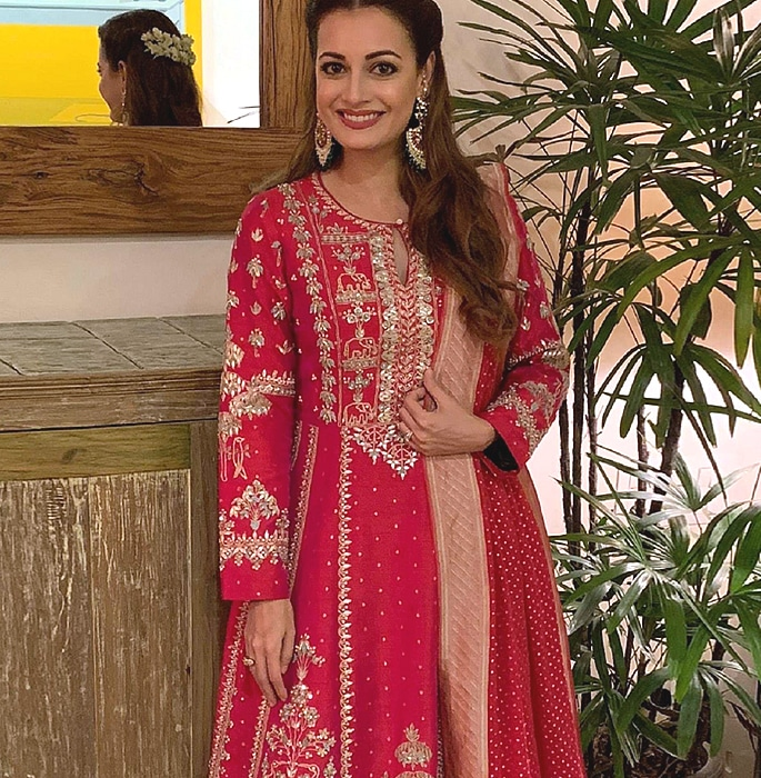 From Royalty to Bollywood, Celebs who wore Anita Dongre - 3