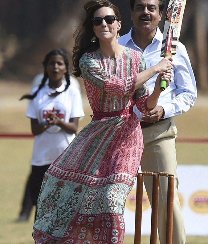 From Royalty to Bollywood, Celebs who wore Anita Dongre - kate