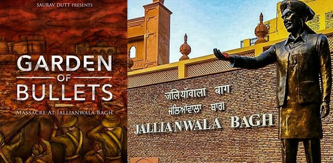 Garden of Bullets Massacre at Jallianwala Bagh by Saurav Dutt f